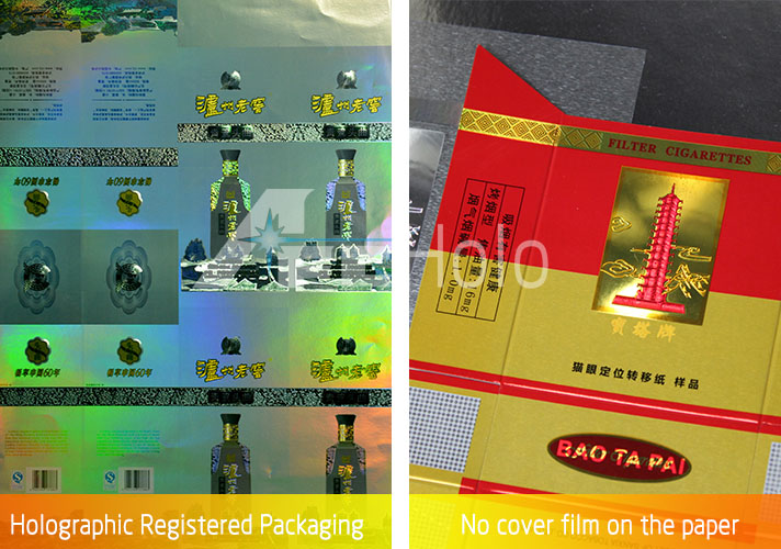 Holographic Registered Packaging